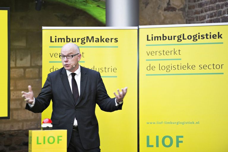 Aankleding kick-off evenement LIOF LimburgMakers en LimburgLogistiek