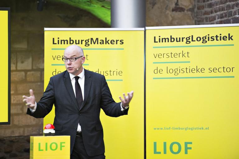 Aankleding kick-off evenement LIOF LimburgMakers en LimburgLogistiek