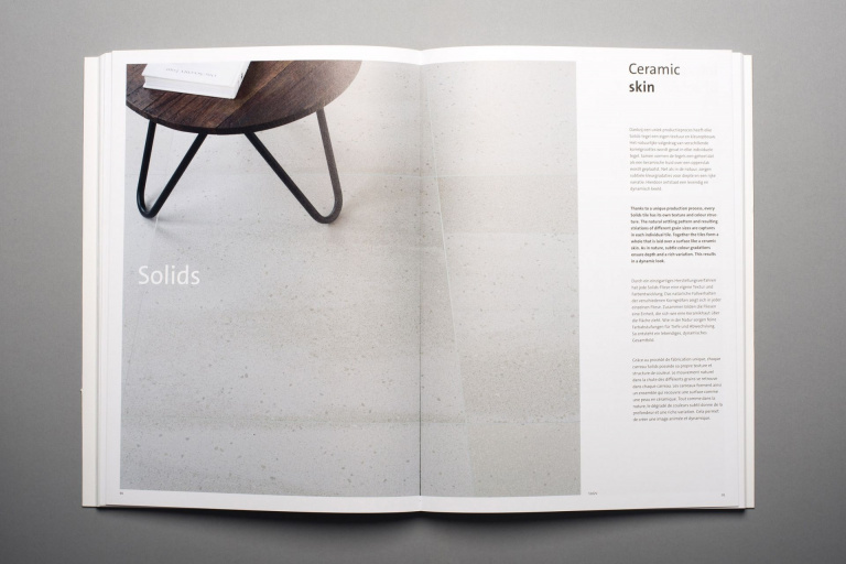 Spread Solids uit Mosa Collection book