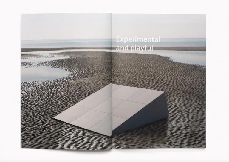 Spread brochure Mosa μ-serie (mu)