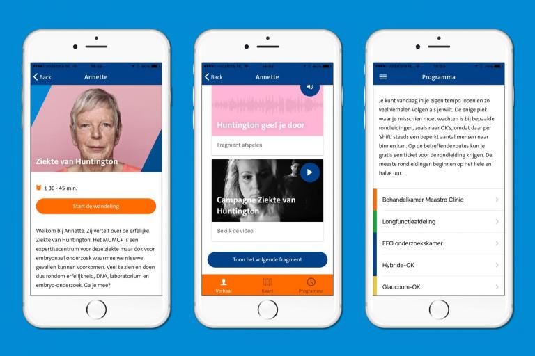 MUMC+ Doe- en Beleefdag app