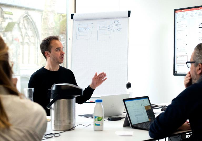Training bij creative consultancy Zuiderlicht, Maastricht