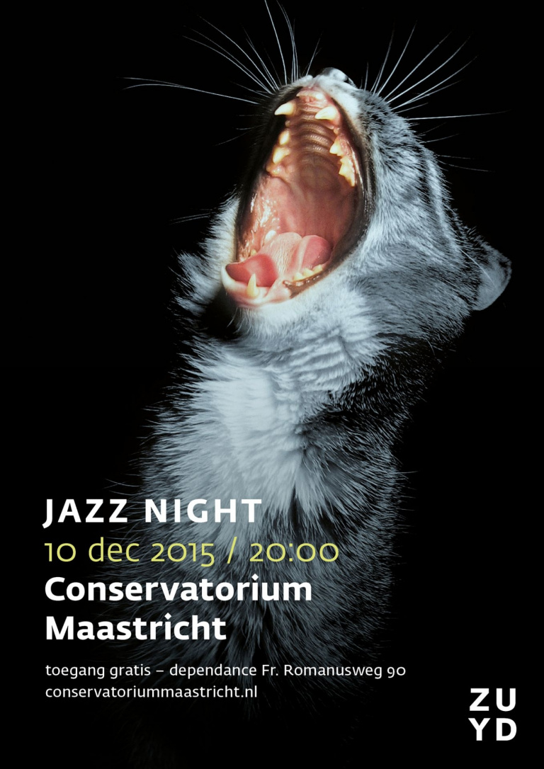 Poster Jazz Night 2015 Conservatorium Maastricht