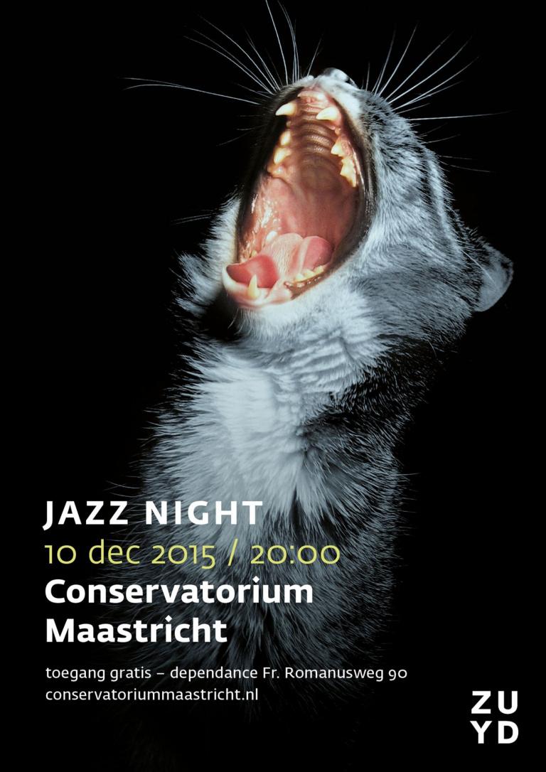 Poster Jazz Night 2015 Conservatorium Maastricht