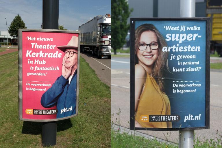 Spread Parkstad Limburg Theaters PLT magazine