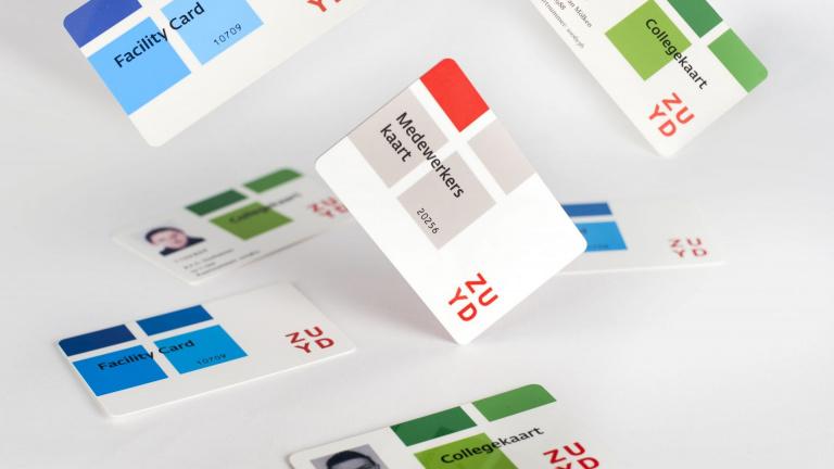 Zuyd Facility Card, Medewerkerskaart en Collegekaart