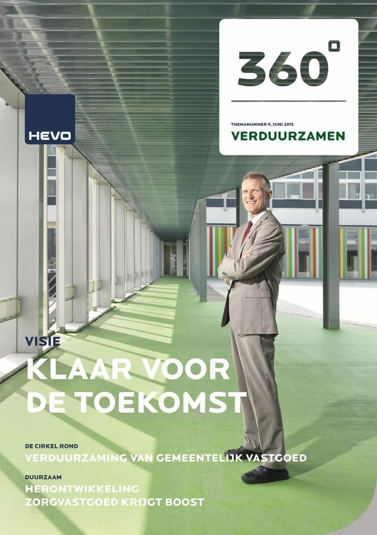 Cover 360° HEVO magazine