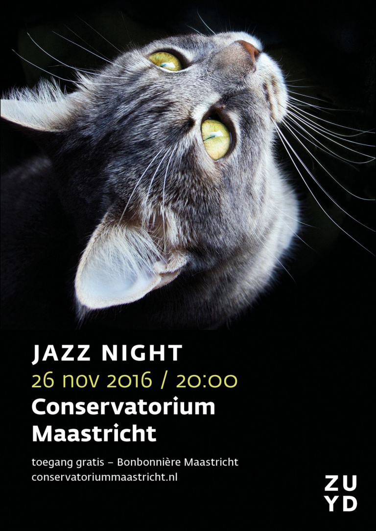 Poster Jazz Night 2016 Conservatorium Maastricht