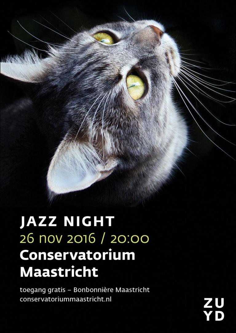 Poster Jazz Night 2016 Conservatorium Maastricht