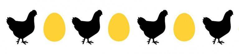 Kip en ei iconen voor GGzEi website van GGzE