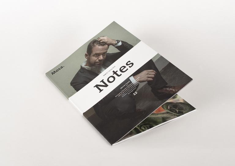 Cover brochure Mosa μ-serie (mu)