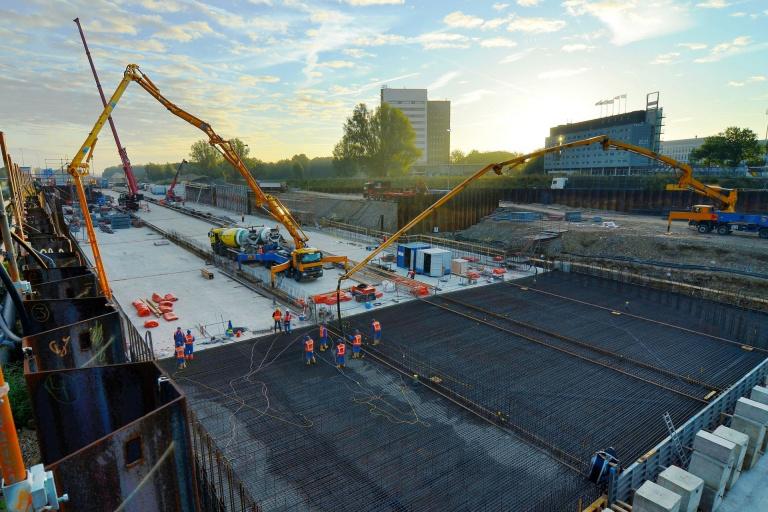 Project A2 Maastricht bouw Koning Willem-Alexandertunnel