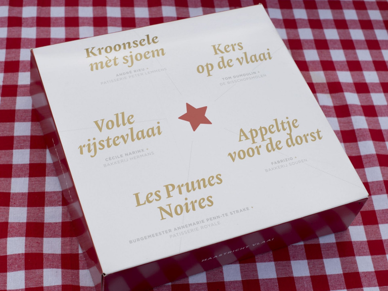 Ontwerp vlaaidoos Maastricht Vlaai Maastricht Marketing