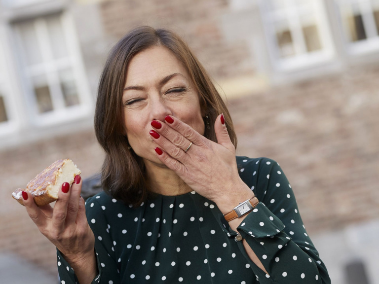 Cecile Narinx voor Maastricht Vlaai Maastricht Marketing