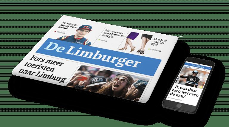 Ontwerp De Limburger dagblad en app