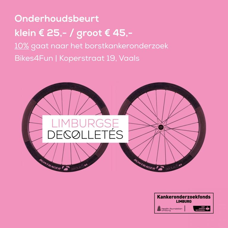 Limburgse Decolletés Bikes4Fun Vaals