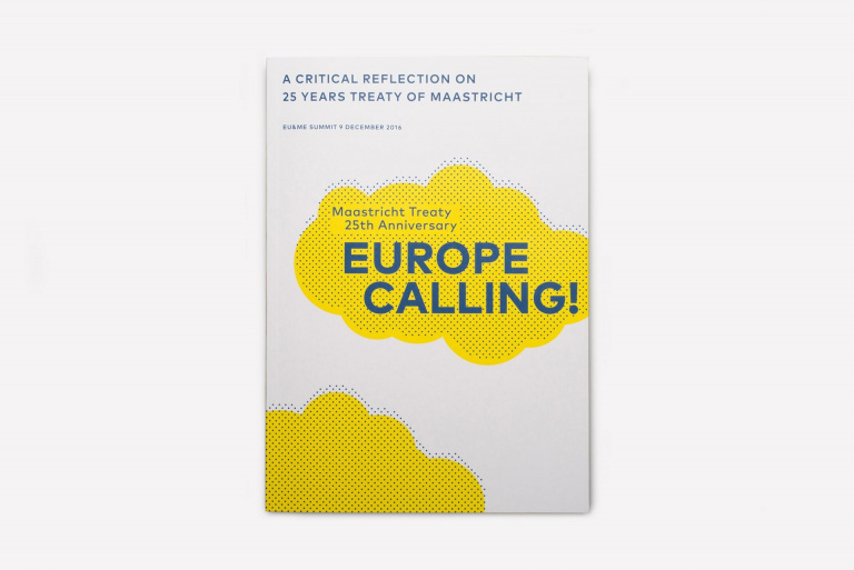 Europe Calling! boek: Maastricht Treaty 25th Anniversary