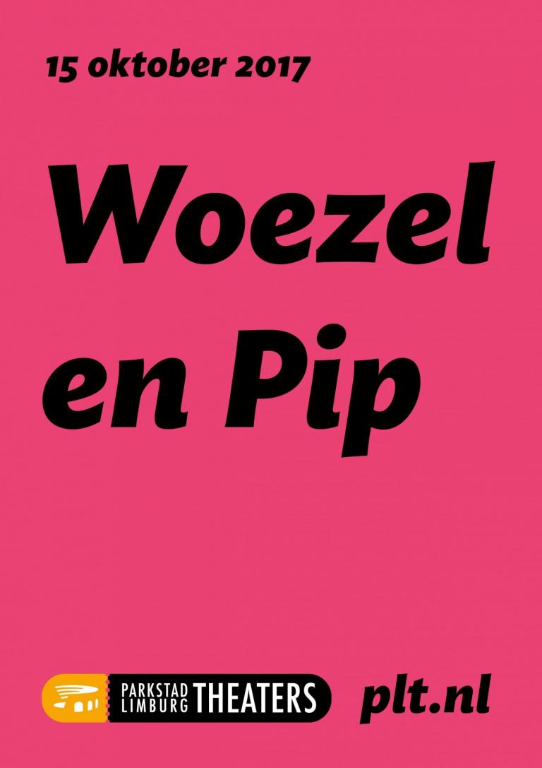 Affiche Parkstad Limburg Theaters Woezel en Pip
