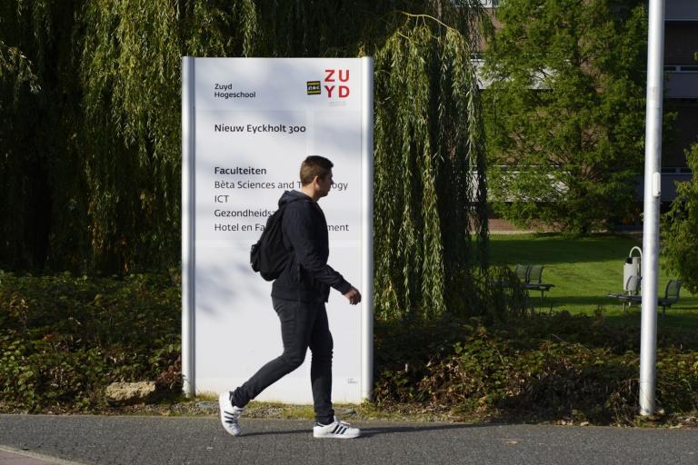 Bewegwijzering Zuyd Hogeschool Heerlen