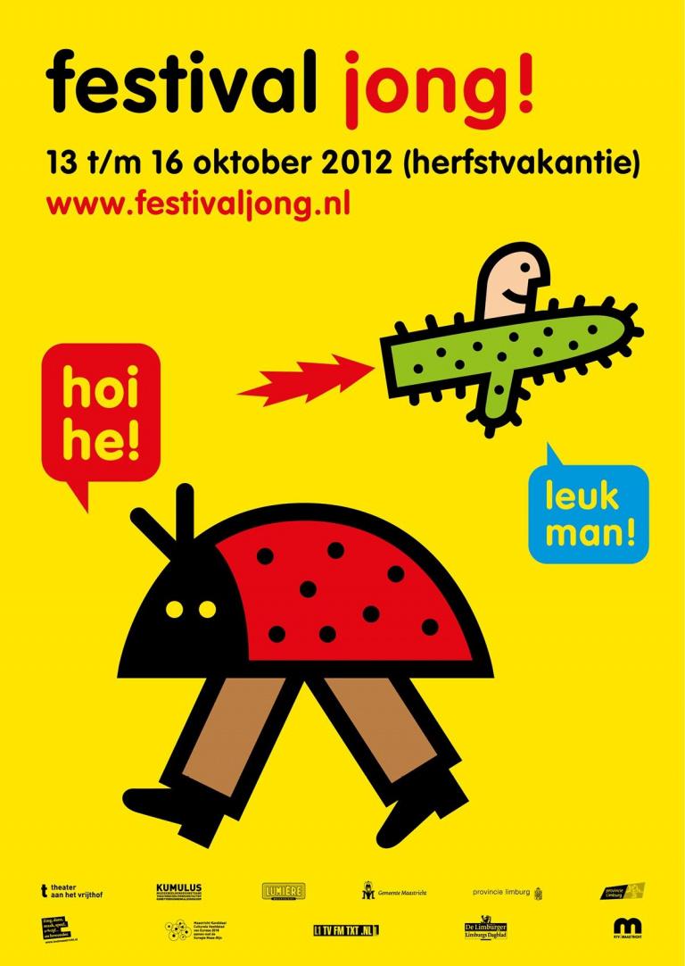 Poster festival jong!