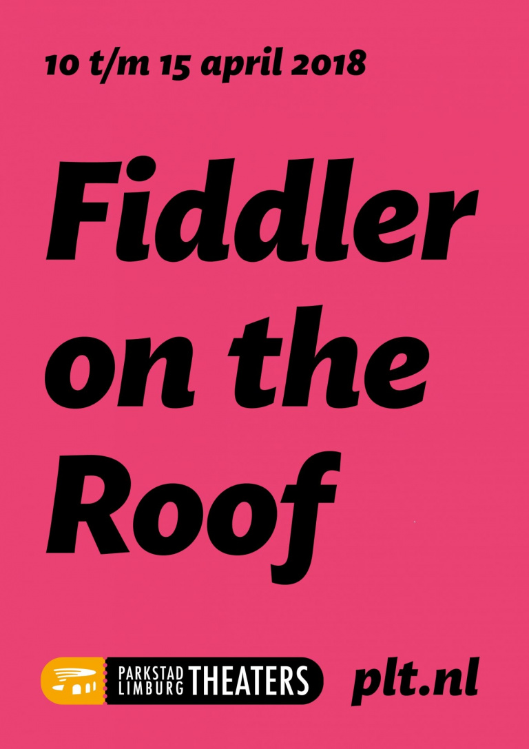 Affiche Parkstad Limburg Theaters Fiddler on the Roof