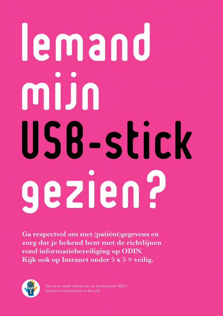Interne campagne patiëntgegevens MUMC+