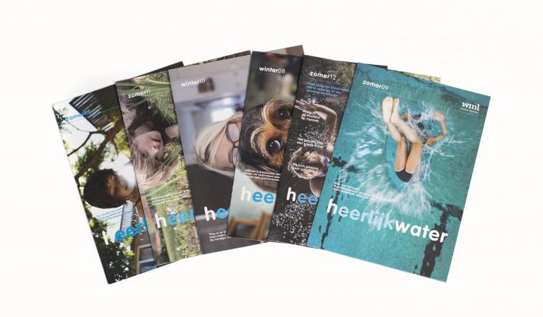 Heerlijk water magazine van WML